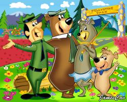 Yogi Bear Oso Yogui by JamesCav