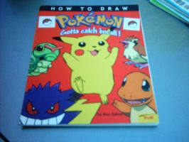 Pokemon drawing book 1 by Names-Tailz