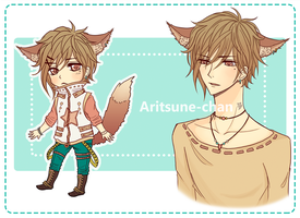 [CLOSED] Adoptable Kemonomimi Boy(updated) by Aritsune-chan