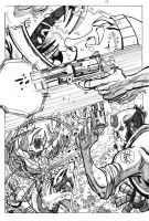 Hellboy page 3 Pencils by pmason83