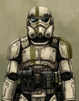 Storm Trooper redesign by FonteArt