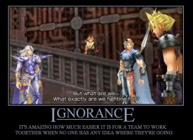 Dissidia - Ignorance by TheFavs