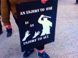 Occupy Oakland: An Injury to One by Sunset-Trails