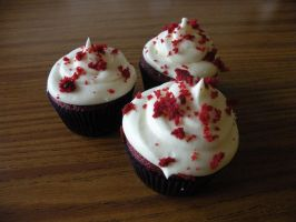 Red Velvet Cupcakes by cake-engineering