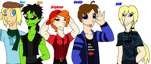 New Outfits: OC Boys by PurfectPrincessGirl