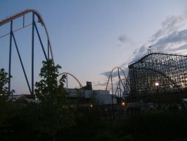 Two Big Coasters by purple-the-cactus