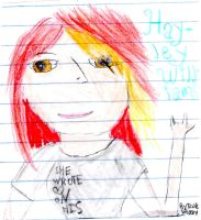 Hayley Williams by Tonks-Lupin