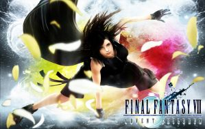 Final Fantasy 7 AC part 4 (Tifa) Wallpaper by ViciousJosh