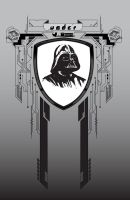 Darth Vader coat of arms by NoxIllunis971