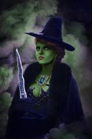 Zelena Mills by Almost-Human-Cosband