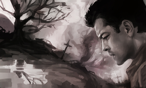 Castiel - Orphan by RideFire