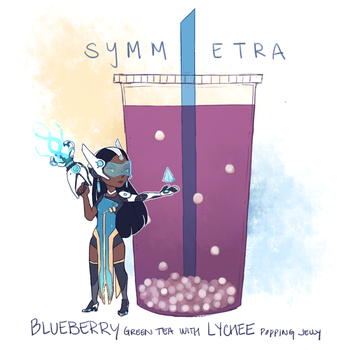 Overwatch - BOBAWATCH: Symmetra by Pidoodle