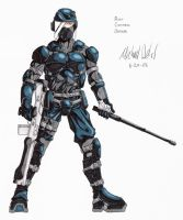 Copic Riot Control Officer by gaetano125