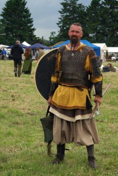 Viking Reenactment by Pullus