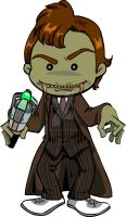 zombie Dr. Who by digikolobong