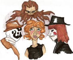 Alan Moore's Adaptations by maranianthe