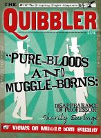Quibbler : Pure Bloods and Muggle by jhadha