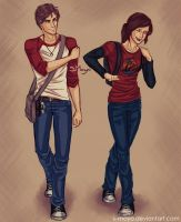 Nate and Ellie by S-Moyo