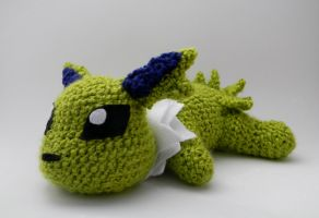 Shiny Baby Jolteon ami by gwilly-crochet