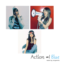 Action 1 Blue by cecywentz