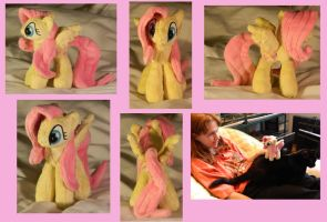 Mini Fluttershy Plush by Starimo