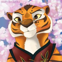Fan Favorites Series #13 - Master Tigress by sophiecabra