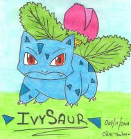 Ivysaur by L-TheNailBiter