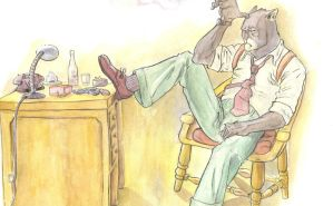 blacksad by MrHarp