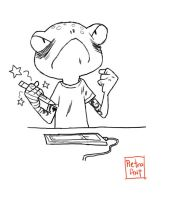 Me like frog by pietro-ant