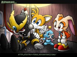 From Sonic Advance3 by Extra-Fenix