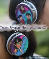 Team Uh-vatar Headphones by Applenoob45