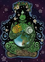 Earth Mother by ORUPSIA