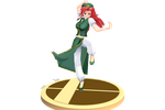 Hong Meiling Statue -Pose DL- by Pink-Heart-Pri