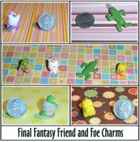 Final Fantasy Charms by YellerCrakka