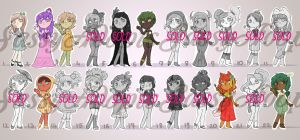 OPEN Candy Girls Set1 (7/22) by SassyAdopts