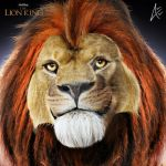 Mufasa Portrait- The Lion King by Andersiano