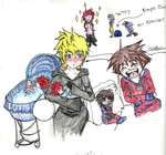 Roxas finds out by XIIIThirteen13
