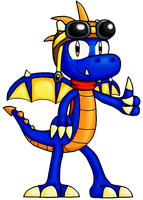 Cobalt the Dragonling by Cyberguy64