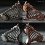 Wolf harp in details by omegaptera