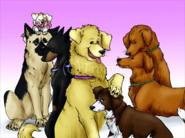 Ouran dogs by tronnie