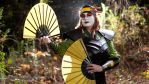 Kyoshi Warrior Suki Forest by gstqfashions