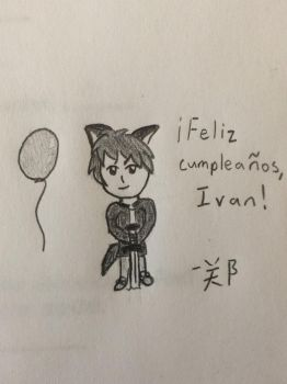 {Gift} Chibi Ivan! by kingster333