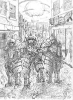 Apocalypse Soldiers by ChaosFeeder