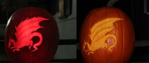 Dragon Age Pumpkin by Etherious