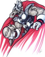 Beta Ray Bill by AdamWithers