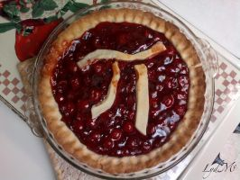 Cherry Pi Pie by LydMc