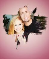 Avril and Chad. by nishux