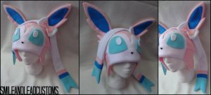 Sylveon Hat by SmileAndLead