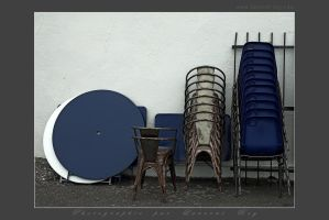 Tables and chairs by laurentroy