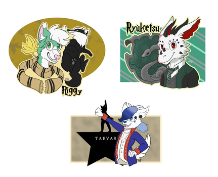 Badge-Batch by Dove-Dragon
